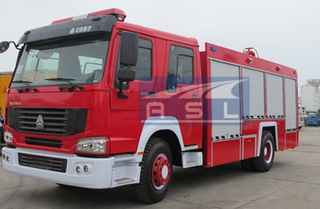dongfeng 5000litres watertank fire truck